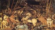 UCCELLO, Paolo Battle of San Romano oil painting