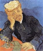 Portrait of Dector Gacher, Vincent Van Gogh