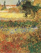 Garden in Bloom, Vincent Van Gogh