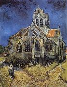 The Church at Auvers sur Oise, Vincent Van Gogh