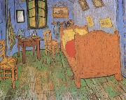 The Artist-s Bedroom in Arles, Vincent Van Gogh