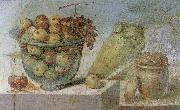 unknow artist Wall painting from the House of Julia Felix at Pompeii oil painting reproduction