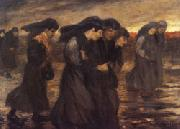 theophile-alexandre steinlen The Coal Sorters oil painting on canvas