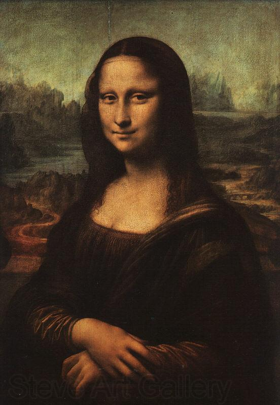 Leonardo  Da Vinci La Gioconda (The Mona Lisa)