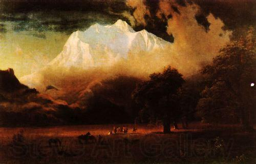 Albert Bierstadt Mount Adams, Washington