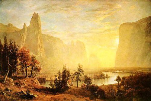 Albert Bierstadt The Yosemite Valley