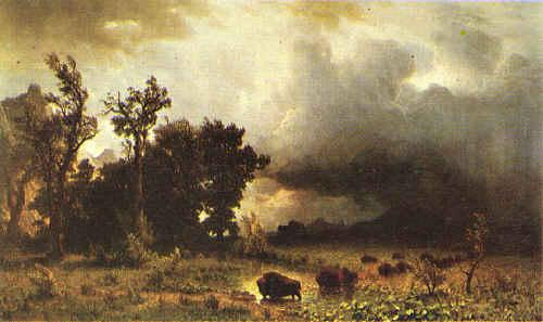 Albert Bierstadt Buffalo Trail