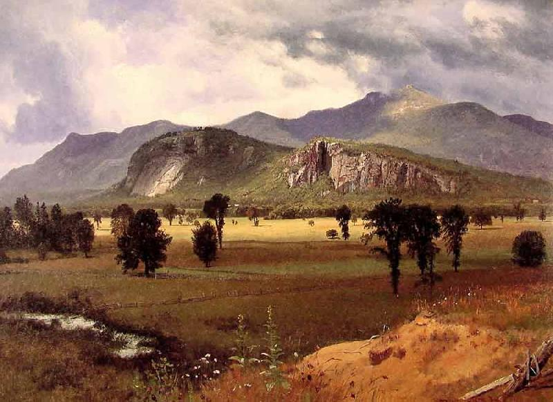 Albert Bierstadt Moat Mountain Intervale New Hampshire