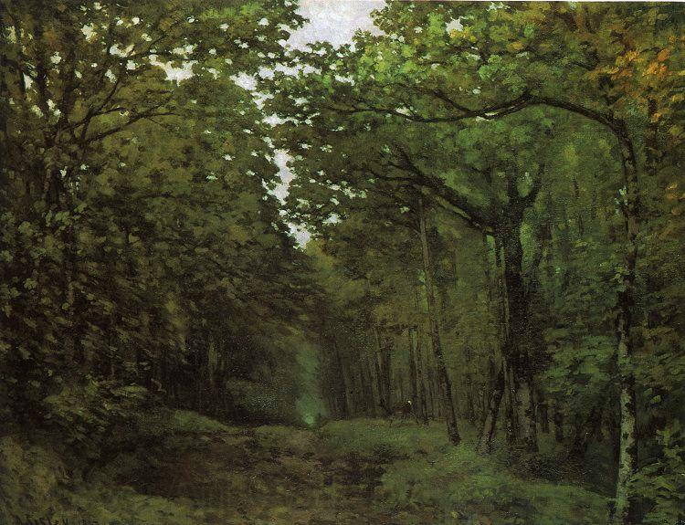 Alfred Sisley Avenue of Chestnut Trees
