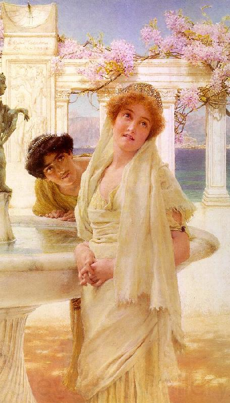 Alma Tadema A Difference of Opinion