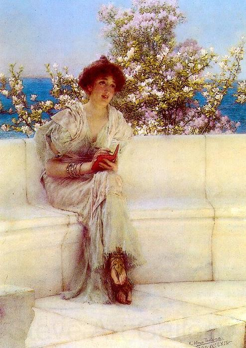 Alma Tadema The Year is at the Spring