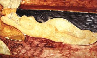 Amedeo Modigliani Reclining Nude