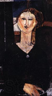 Amedeo Modigliani Antonia