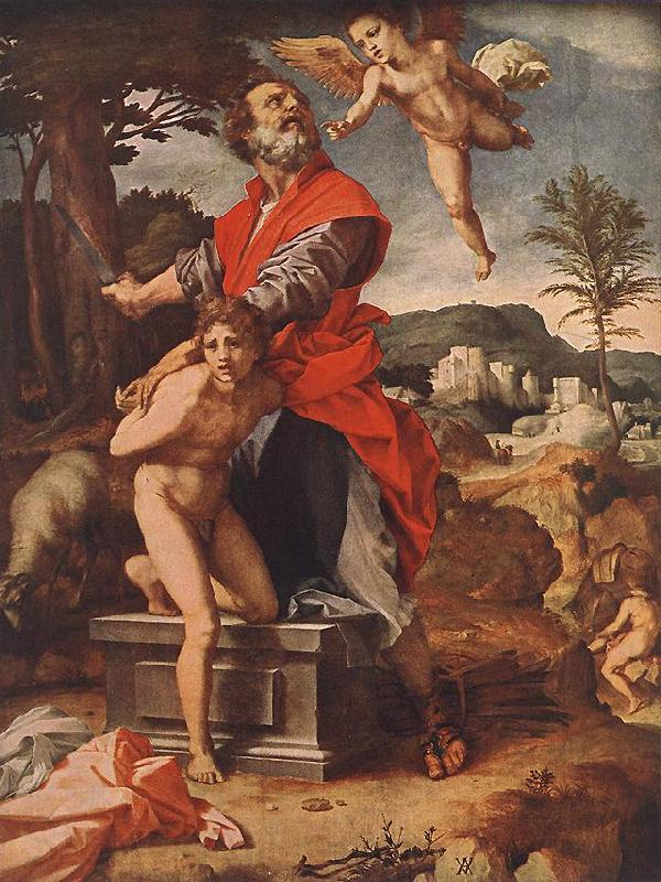 Andrea del Sarto The Sacrifice of Abraham