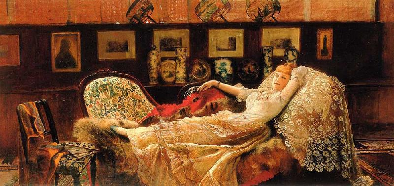 Atkinson Grimshaw Day Dreams