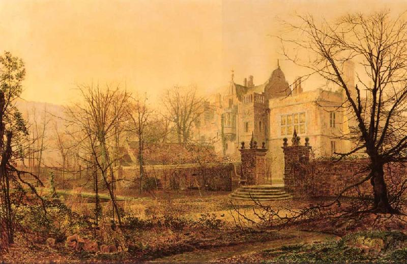 Atkinson Grimshaw Knostrop Hall, Early Morning