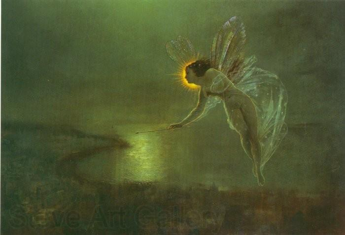 Atkinson Grimshaw Spirit of the Night