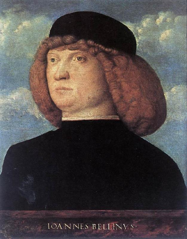 BELLINI, Giovanni Portrait of a Young Man xob