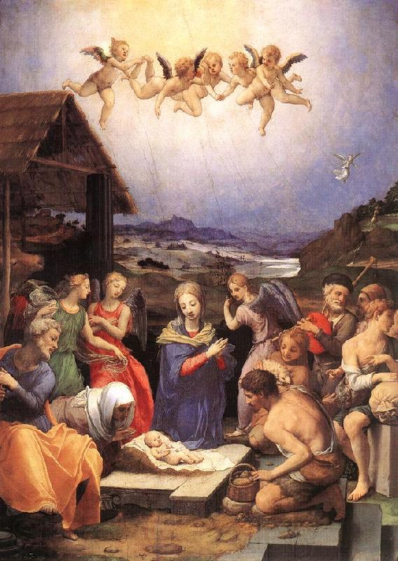 BRONZINO, Agnolo Adoration of the Shepherds sdf