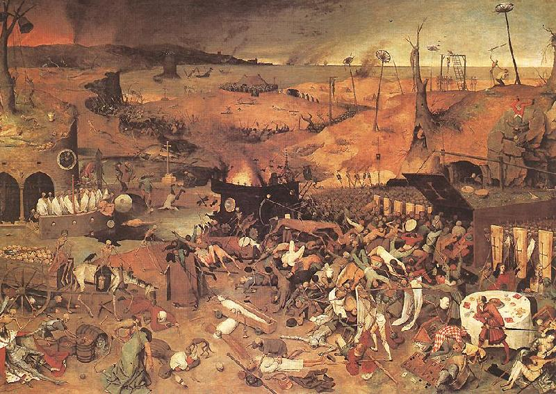 BRUEGEL, Pieter the Elder The Triumph of Death fyfg