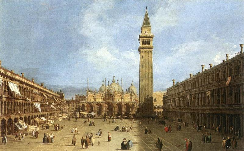 Canaletto Piazza San Marco f