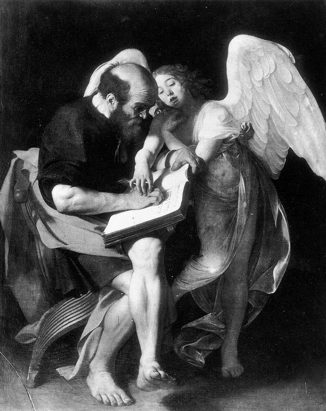 Caravaggio St Matthew and the Angel f