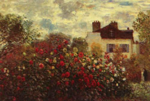 Claude Monet Artist s Garden at Argenteuil