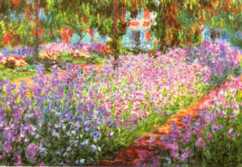 Claude Monet Artist s Garden at Giverny