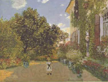 Claude Monet Artist s House at Argenteuil  gggg