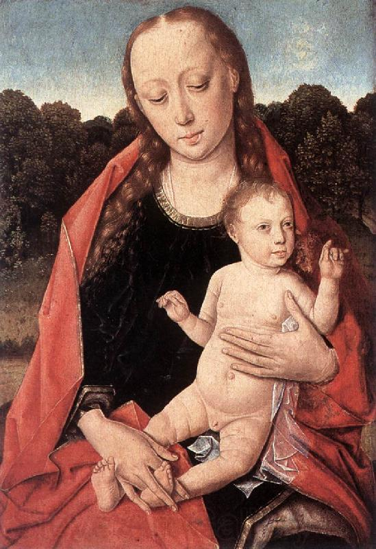 Dieric Bouts The Virgin and Child Panel