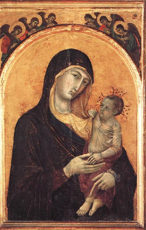 Duccio di Buoninsegna Madonna and Child with Six Angels dfg