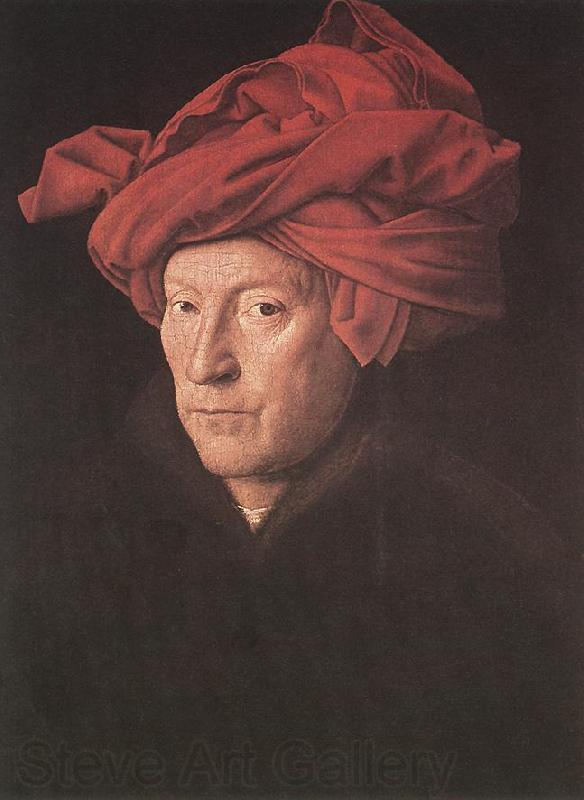 EYCK, Jan van Man in a Turban ds