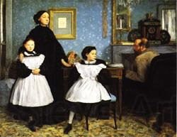 Edgar Degas Family Portrait(or the Bellelli Family)