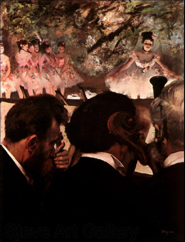 Edgar Degas At the Ballet