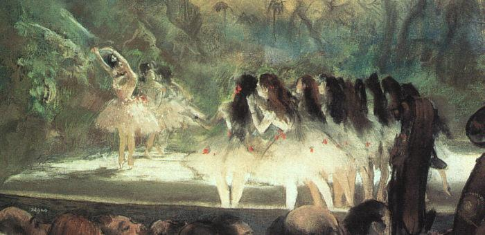Edgar Degas Ballet at the Paris Opera