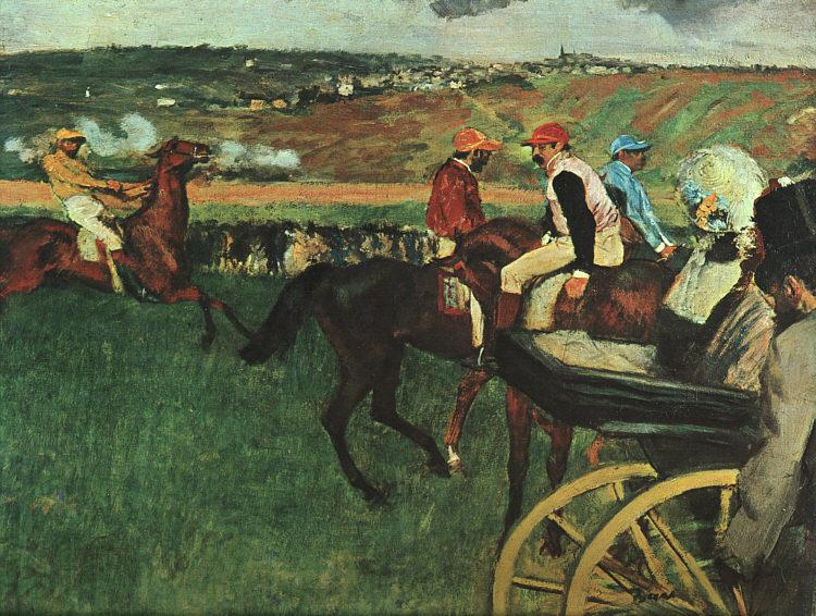 Edgar Degas At the Races