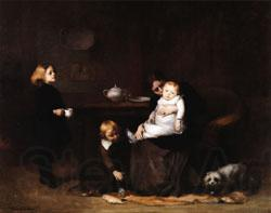 Eugene Carriere The Sick Child