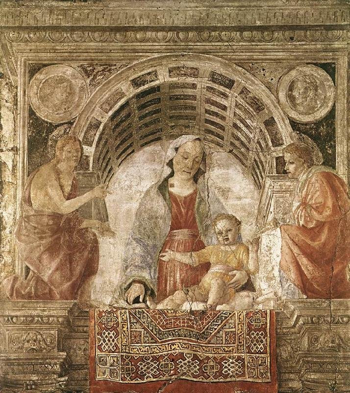 FOPPA, Vincenzo Madonna and Child with St John the Baptist and St John the Evangelist dfhj