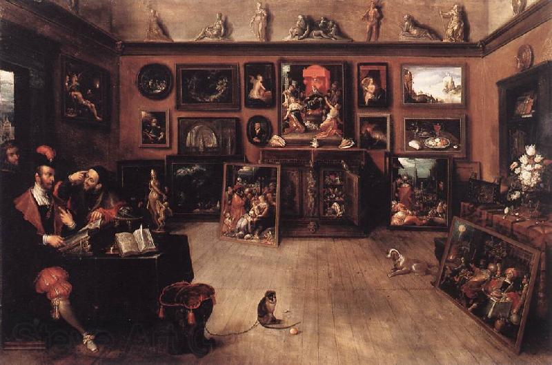 FRANCKEN, Ambrosius An Antique Dealer s Gallery