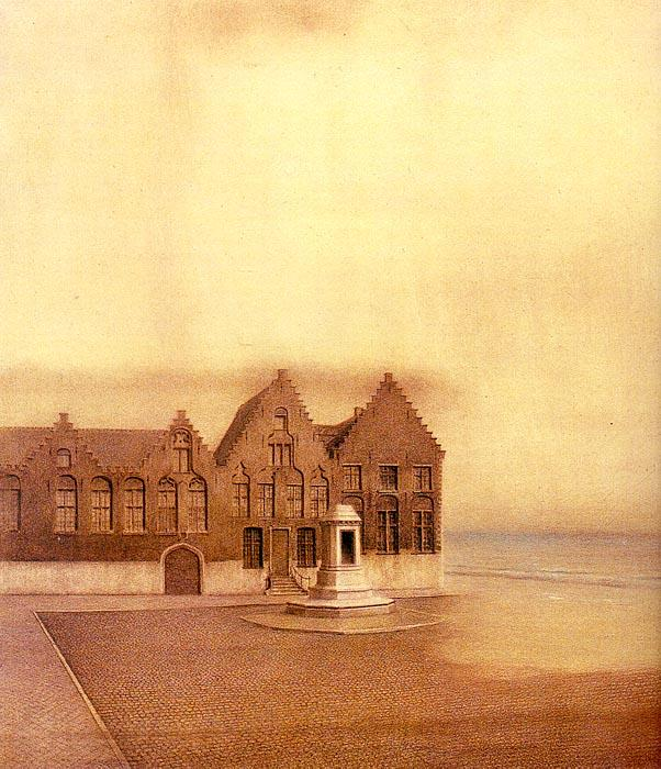 Fernand Khnopff The Abandoned Town