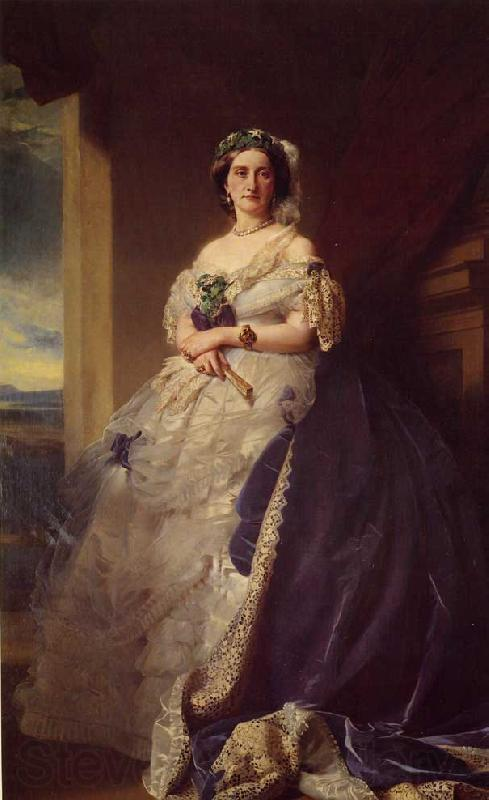 Franz Xaver Winterhalter Julia Louisa Bosville, Lady Middleton