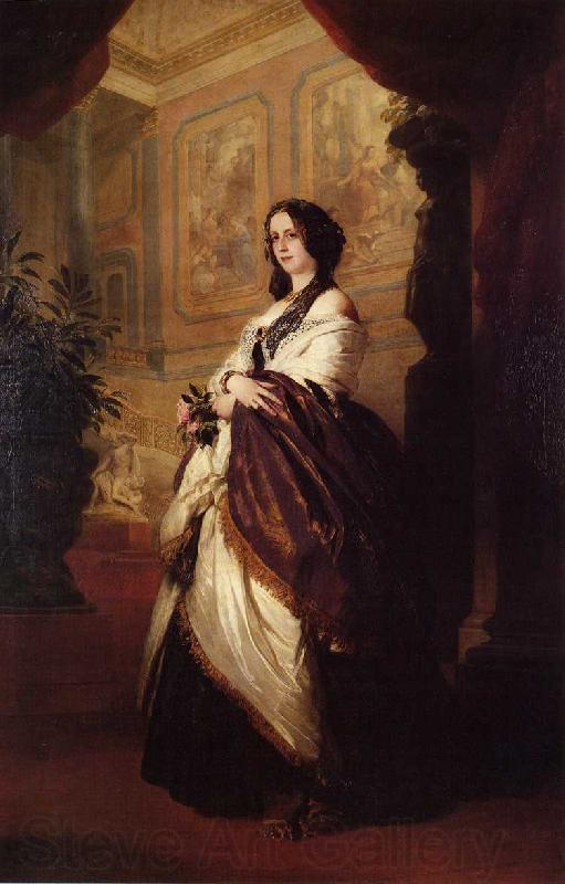 Franz Xaver Winterhalter , Harriet Howard, Duchess of Sutherland