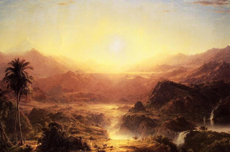 Frederic Edwin Church Andes of Eduador