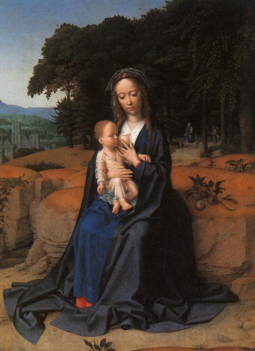 Gerard David The Rest on the Flight into Egypt_1