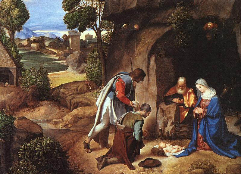 Giorgione The Adoration of the Shepherds