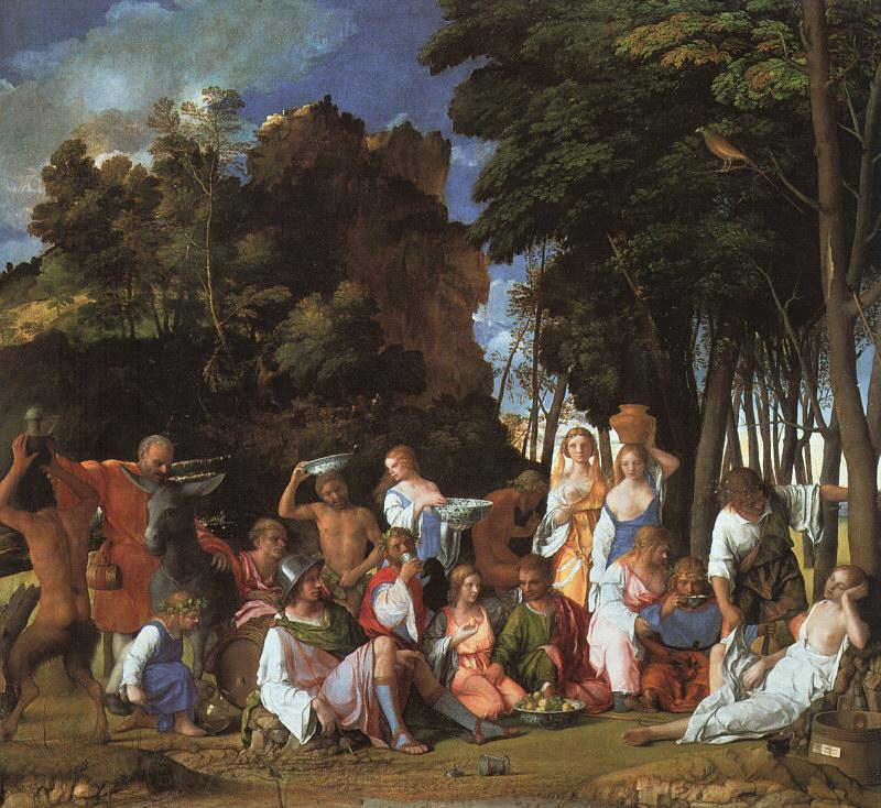 Giovanni Bellini Feast of the Gods