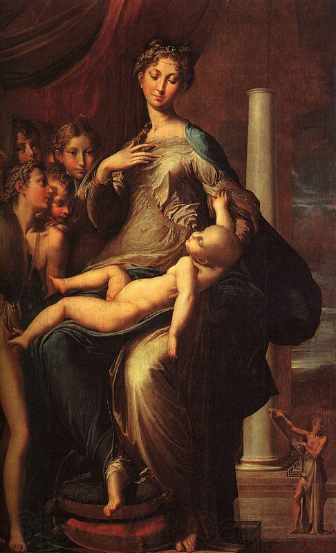 Girolamo Parmigianino The Madonna with the Long Neck