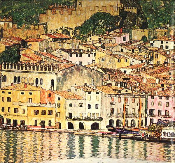 Gustav Klimt Malcesine on Lake Garda
