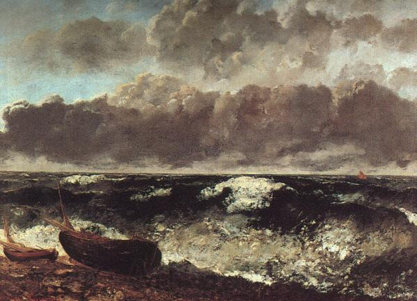 Gustave Courbet The Wave