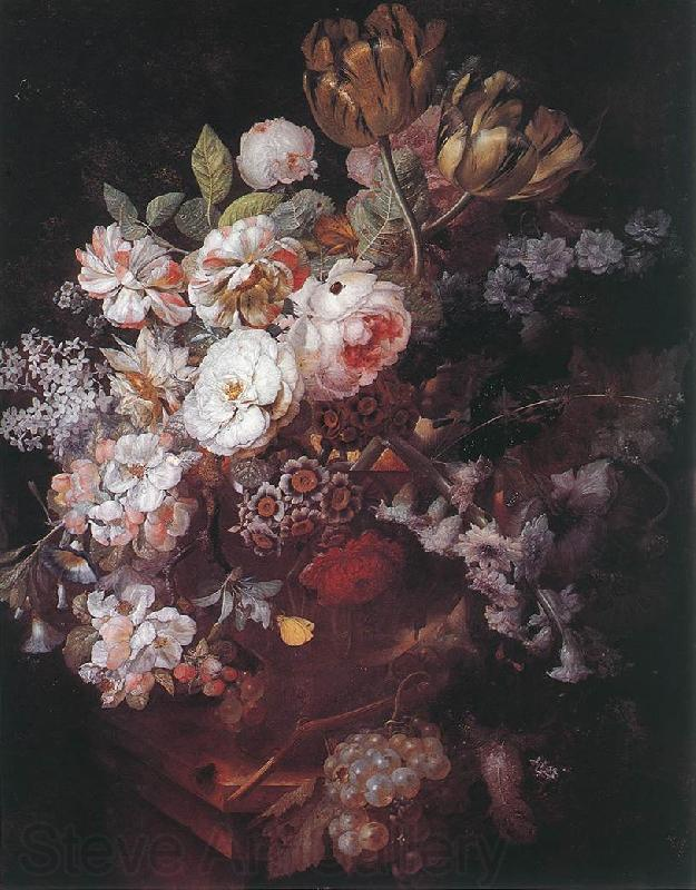 HUYSUM, Jan van Vase of Flowers af
